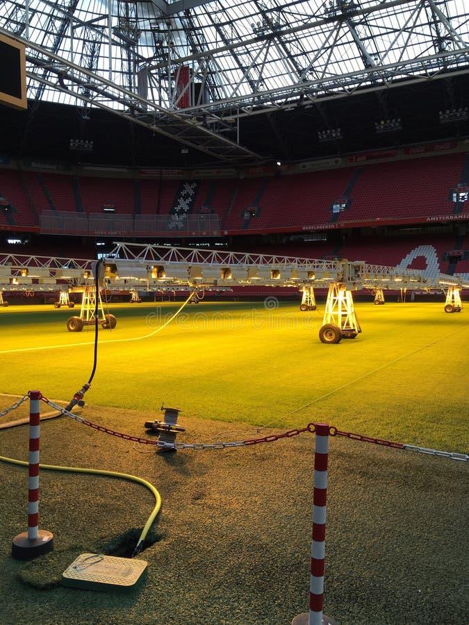 Estádio de Ajax, Amsterdão, Países Baixos, futebol fotografia de stock