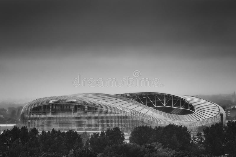 Estádio de Aviva, Dublin imagens de stock royalty free