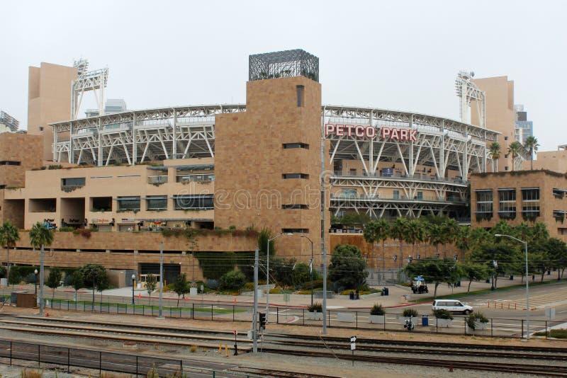 Estádio de basebol do parque de Petco imagem de stock