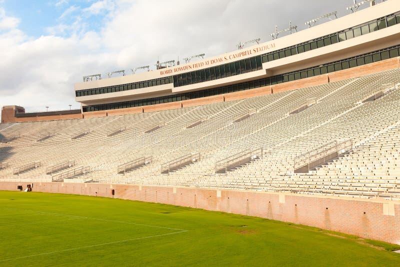 Estádio de Doak Campbell na universidade de estado de Florida imagem de stock royalty free