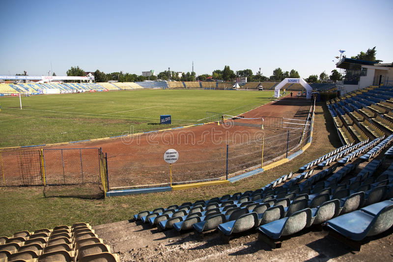 Estádio de Dunarea fotos de stock royalty free