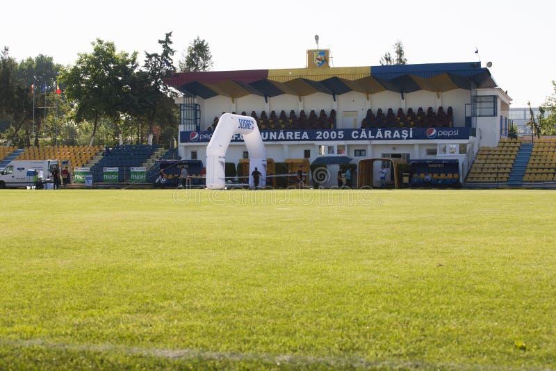 Estádio de Dunarea imagem de stock