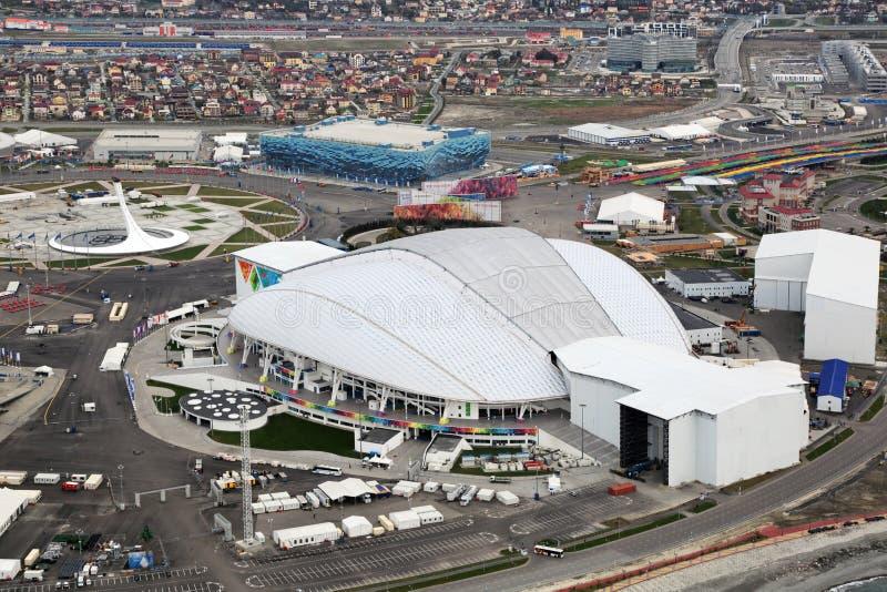 Estádio de Fisht Olimpic fotos de stock royalty free