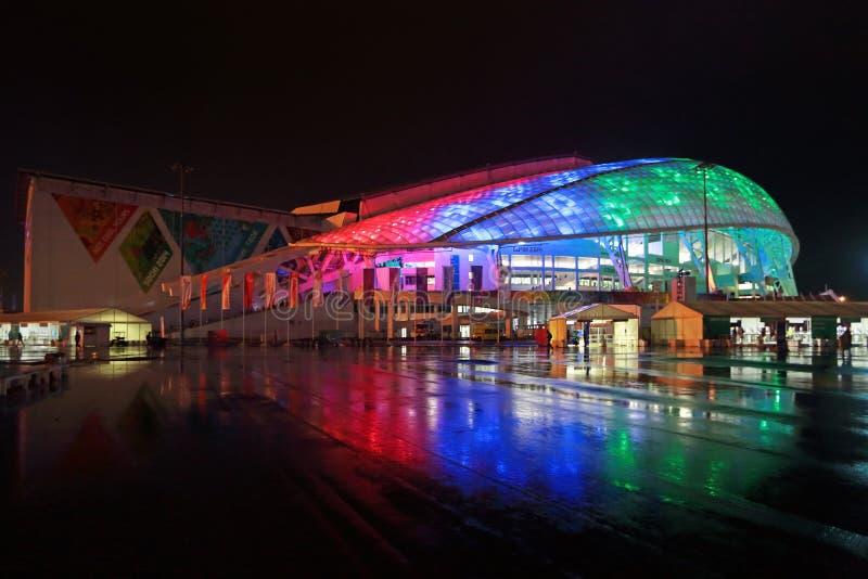 Estádio de Fisht Olimpic imagens de stock royalty free
