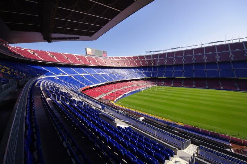 Estádio de futebol fotografia de stock
