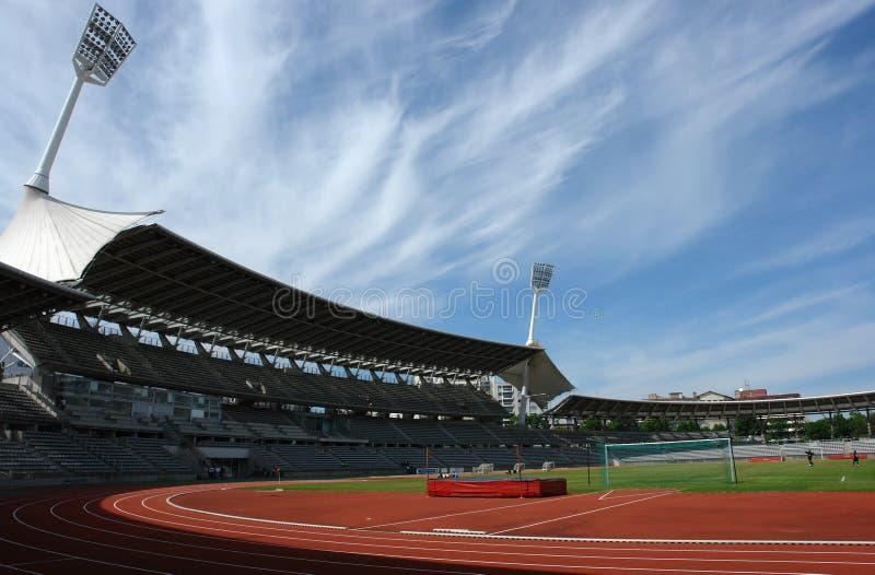 estádio de futebol. imagem de stock royalty free