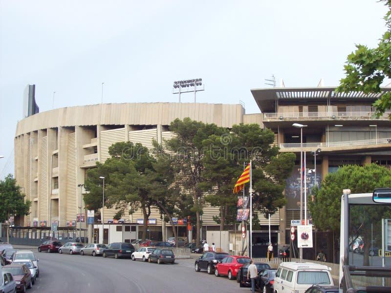 Estádio de futebol de Barcelona foto de stock royalty free