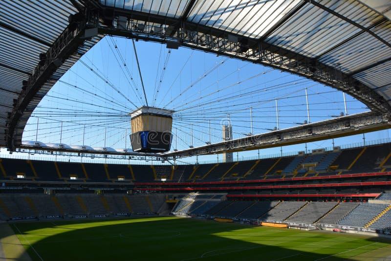 Estádio de futebol de Francoforte - arena de Commerzbank foto de stock