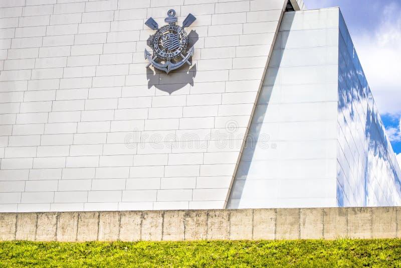 Estádio de futebol dos Corinthians da arena foto de stock