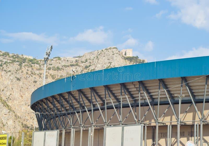 Estádio de futebol em Palermo imagens de stock
