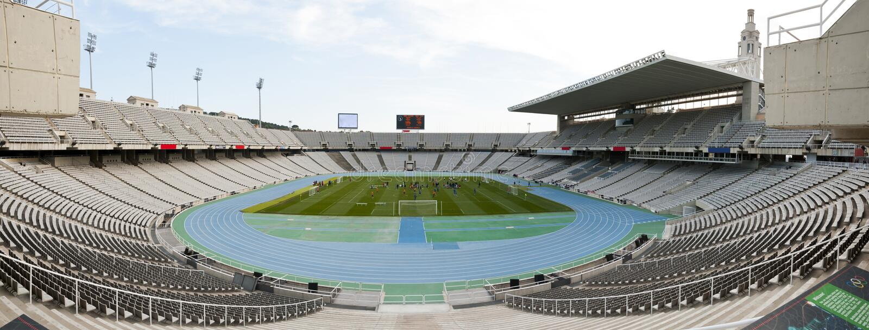 Estádio de futebol foto de stock royalty free