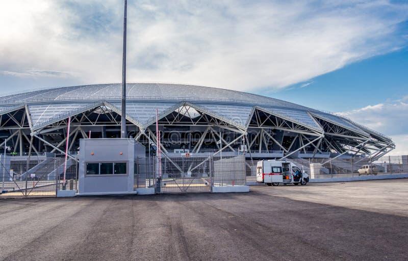Estádio de futebol de Samara Arena fotografia de stock