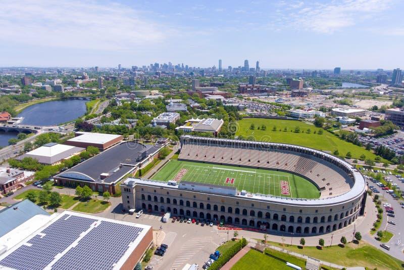 Estádio de Harvard, Boston, Massachusetts, EUA imagens de stock