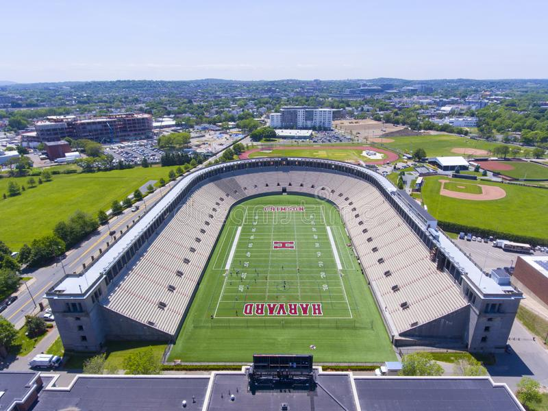 Estádio de Harvard, Boston, Massachusetts, EUA fotos de stock