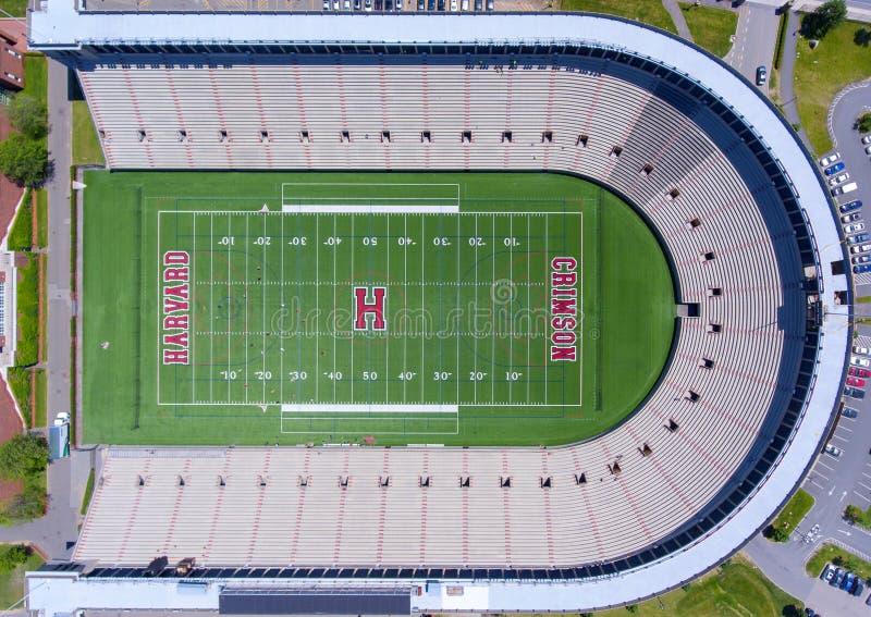 Estádio de Harvard, Boston, Massachusetts, EUA foto de stock royalty free