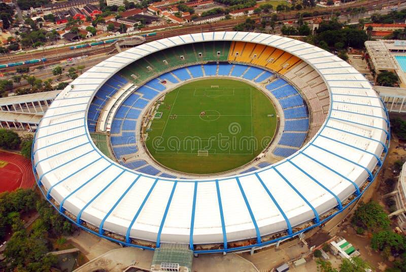 Estádio de Maracana imagem de stock