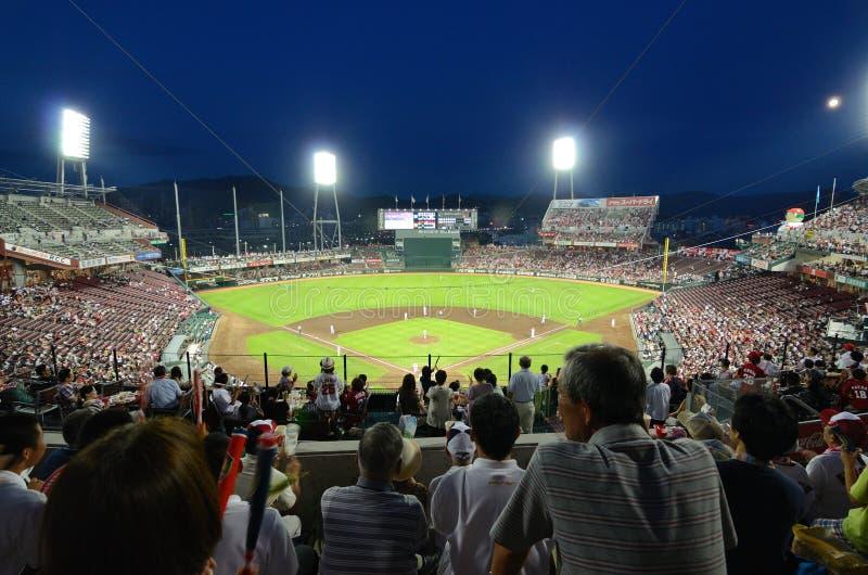 Estádio de Mazda fotos de stock