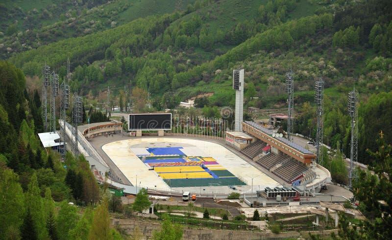 Estádio de Medeo foto de stock
