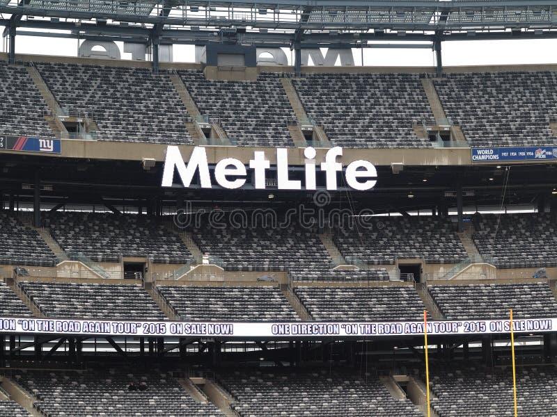 Estádio de MetLife - New York Jets Giants imagem de stock royalty free