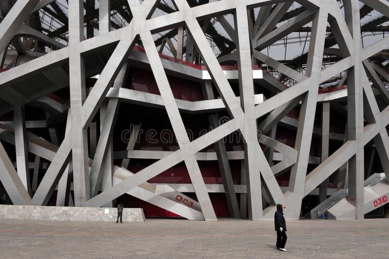 Estádio de nacional de Beijing imagem de stock