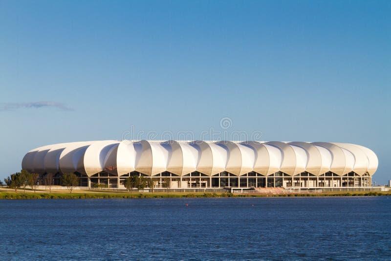 Estádio de Nelson.Mandela fotografia de stock