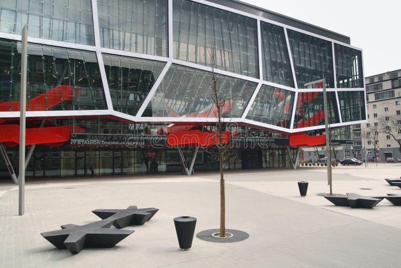 Estádio de Ondrej Nepela em Bratislava, Slovakia fotos de stock