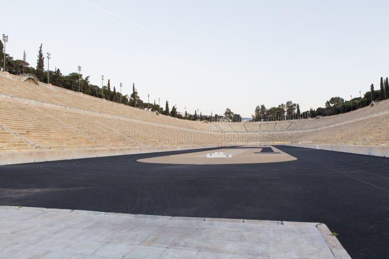 Estádio de Panathenaic de Atenas em Grécia imagem de stock