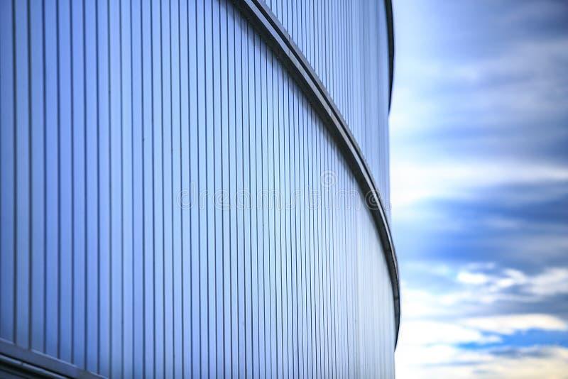 Estádio de RCDE Espanyol situado em Cornella de llobregat O único imagens de stock