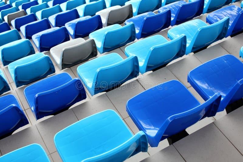 Estádio de Seat imagens de stock