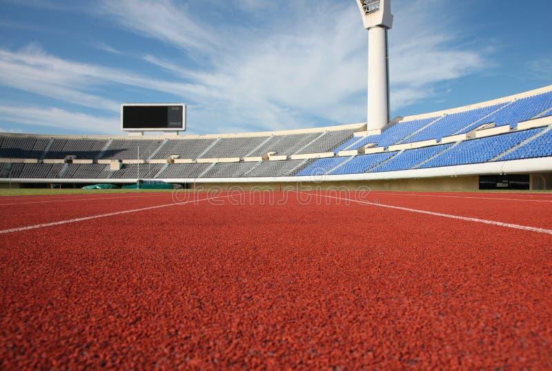 Estádio do atletismo imagens de stock