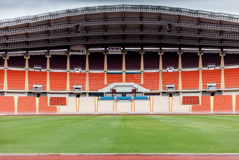 Estádio do futebol, do futebol e do esporte fotografia de stock royalty free