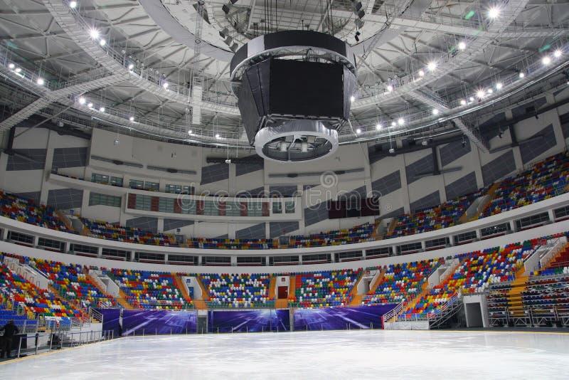 Estádio do gelo imagem de stock royalty free