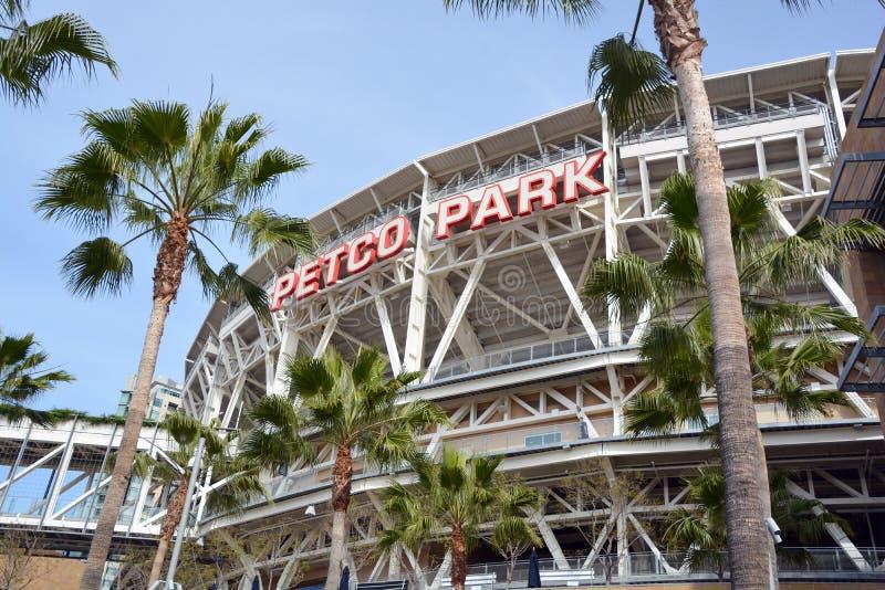Estádio do parque de Petco imagens de stock