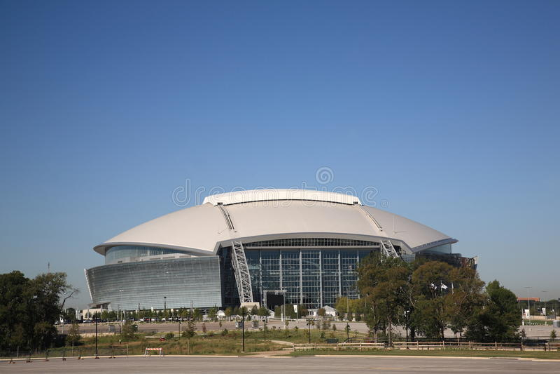 Estádio dos cowboys de Dallas fotografia de stock royalty free