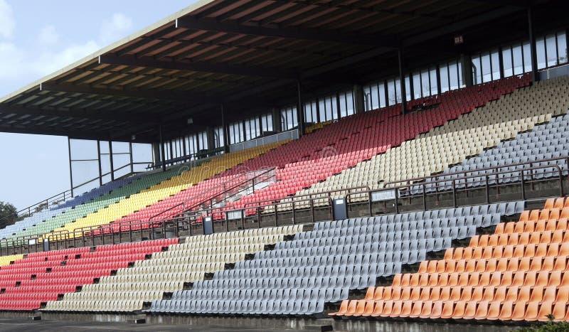 Estádio dos esportes fotografia de stock royalty free