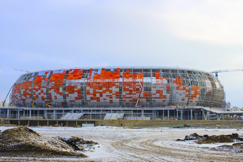 Estádio em Saransk foto de stock royalty free