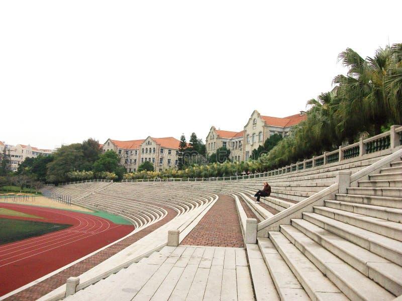 Estádio exterior imagens de stock