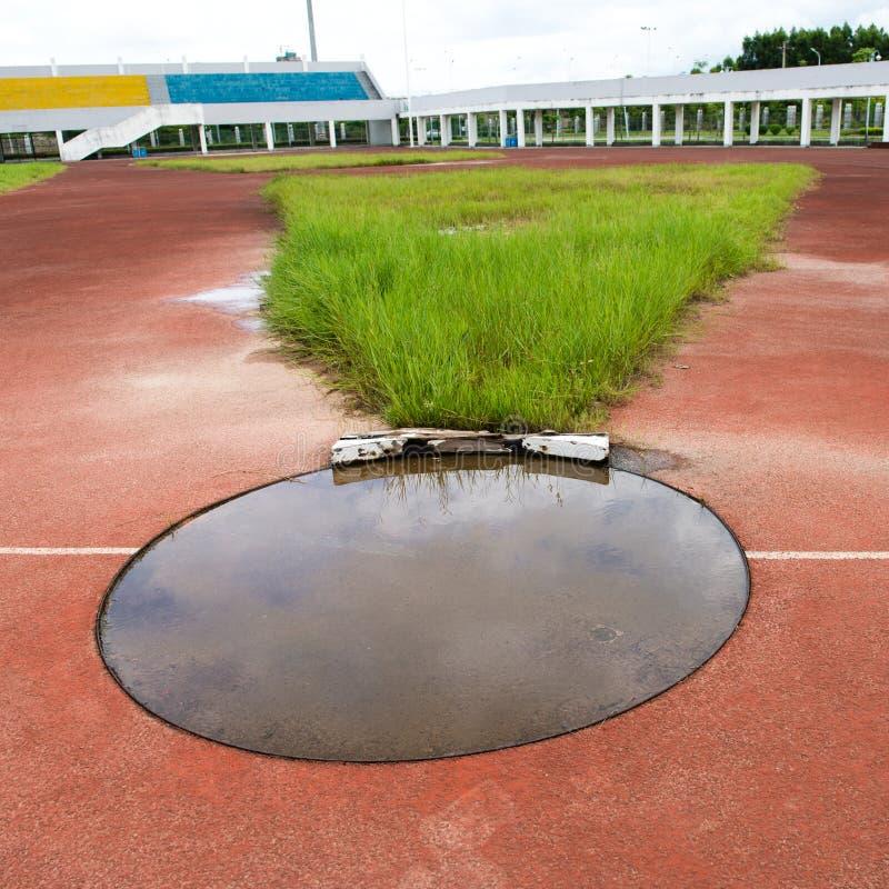 Estádio inativo fotografia de stock royalty free