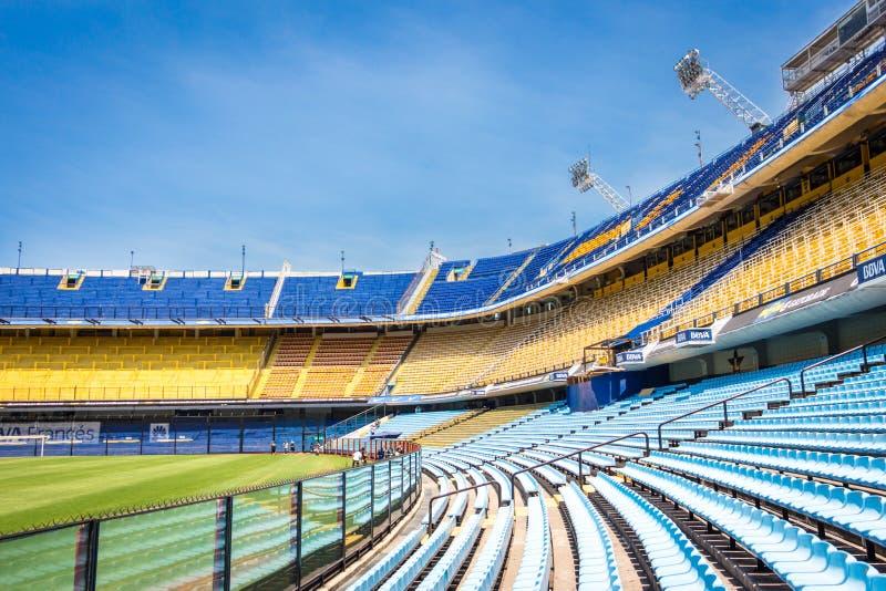 Estádio La Bombonera Boca Juniors. La bombonera el templo del fútbol Mundial - Boca Juniors royalty free stock image