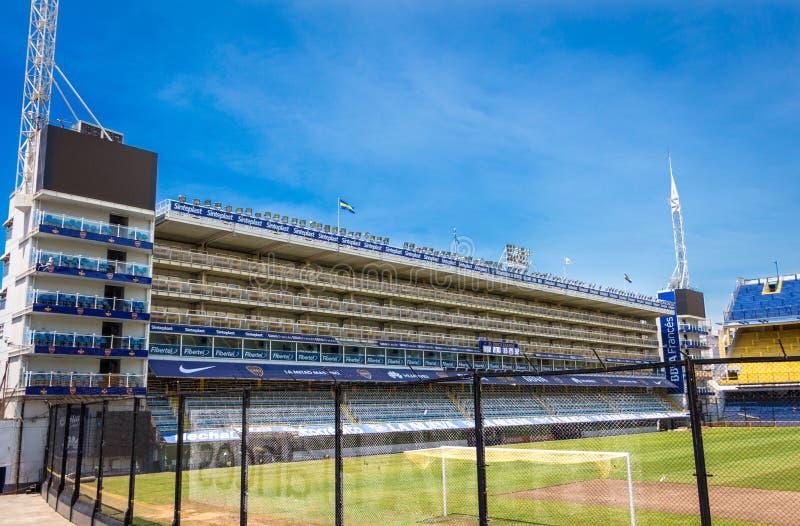 Estádio La Bombonera Boca Juniors. La bombonera el templo del fútbol Mundial - Boca Juniors royalty free stock photo