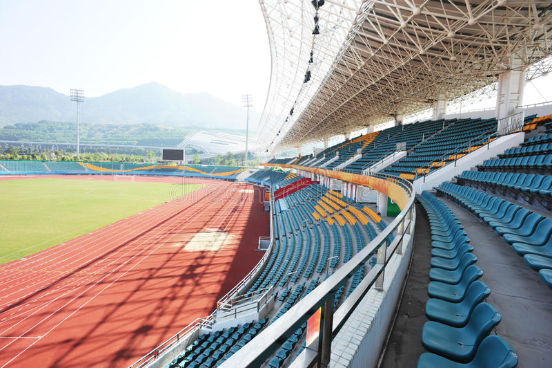 Estádio moderno imagens de stock
