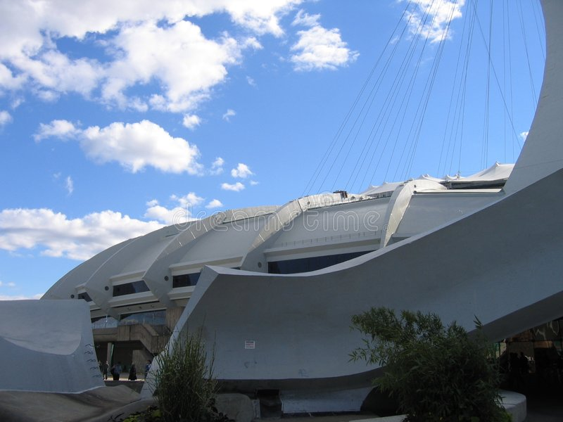 Estádio olímpico imagens de stock royalty free