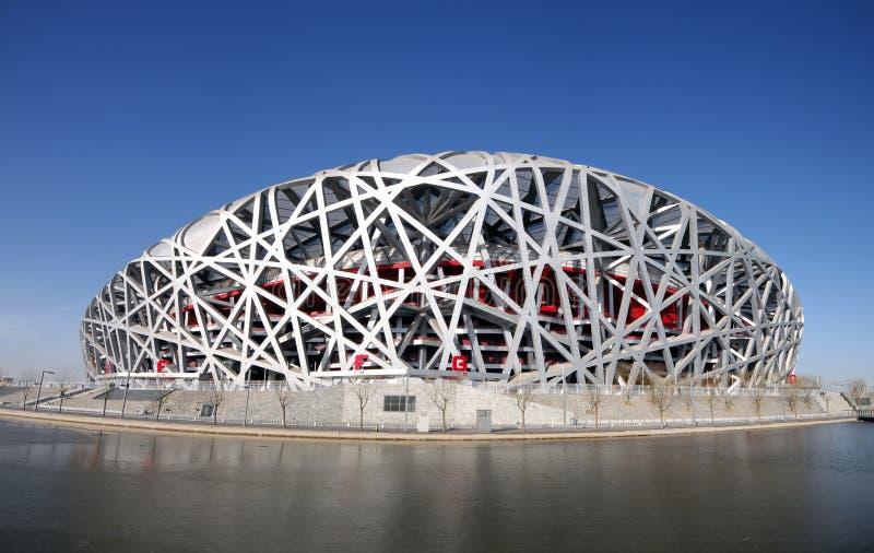 Estádio olímpico nacional imagem de stock royalty free