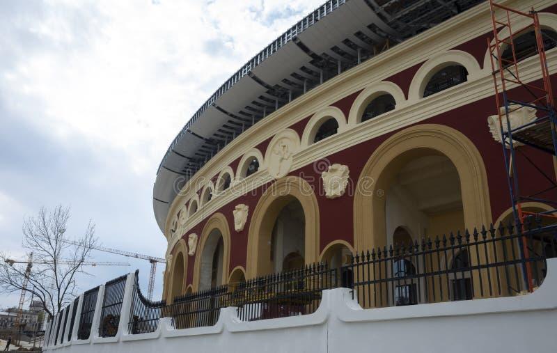 Estádio para os jogos europeus foto de stock royalty free