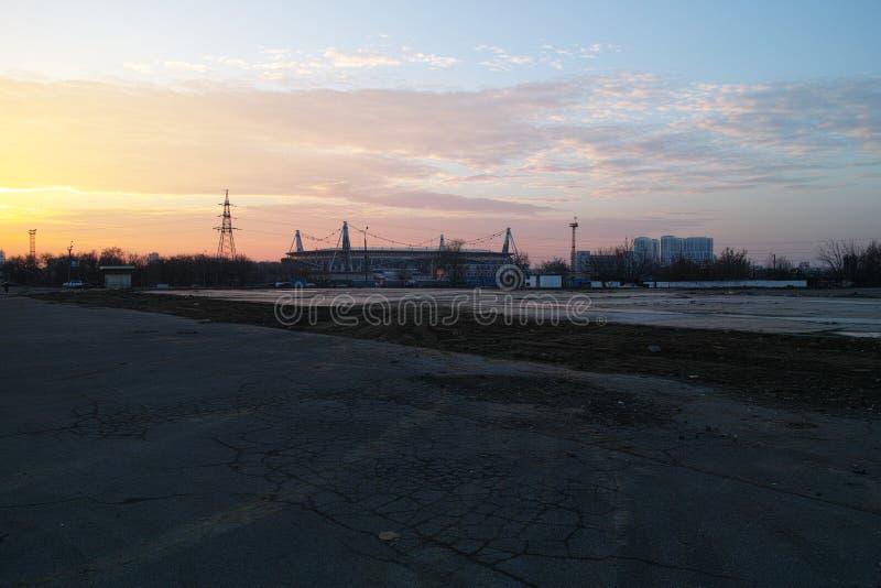 Estádio Rússia de Footbol foto de stock royalty free