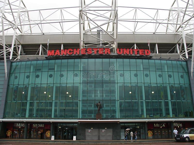 Estádio velho de Trafford. fotos de stock
