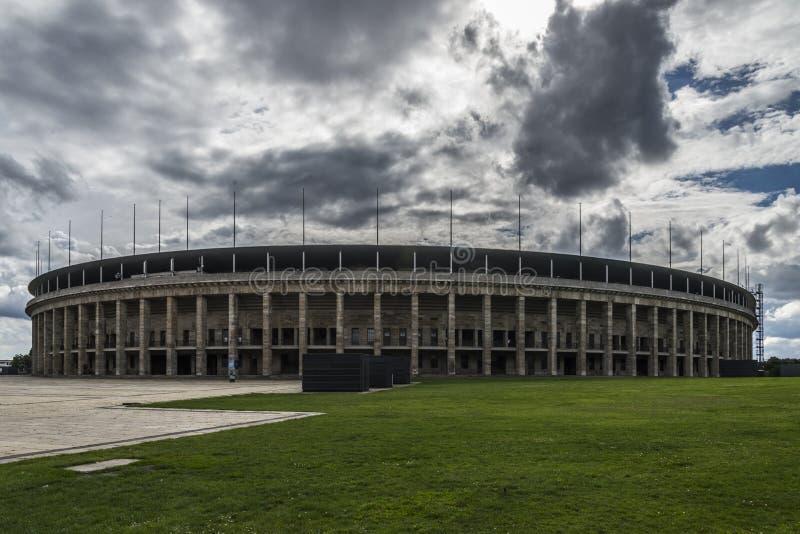 Estádios olímpicos de Berlim fotos de stock