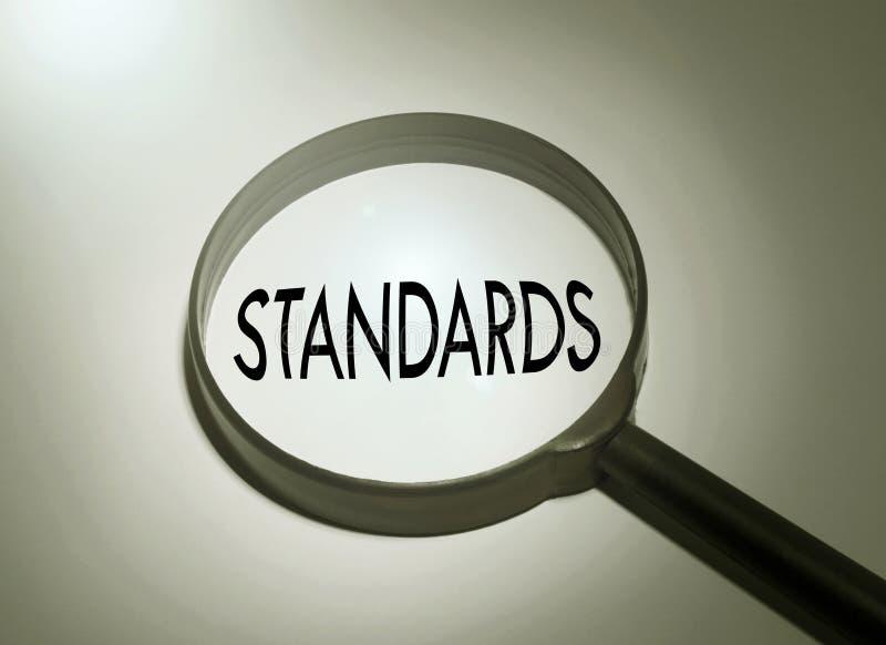 estándares foto de archivo