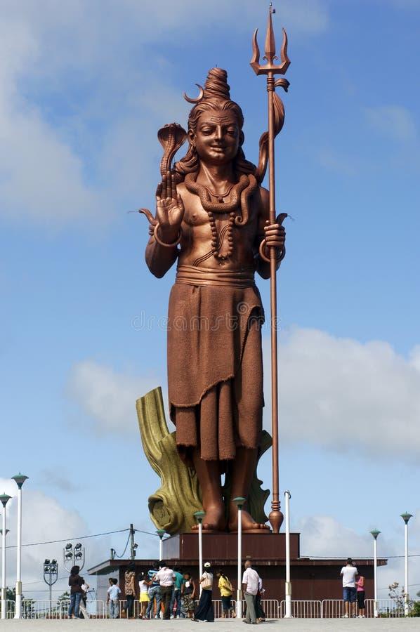 Estátua 2 de Shiva imagens de stock royalty free