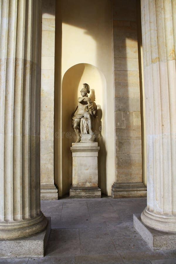 Estátua Antic do guerreiro imagem de stock royalty free